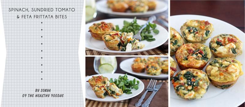 ... , Sundried Tomatoes And Feta Frittata Bites Recipes — Dishmaps
