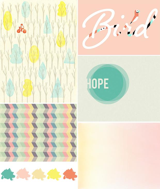 Moodboard / Colour Palette 2012 // Hello Twiggs