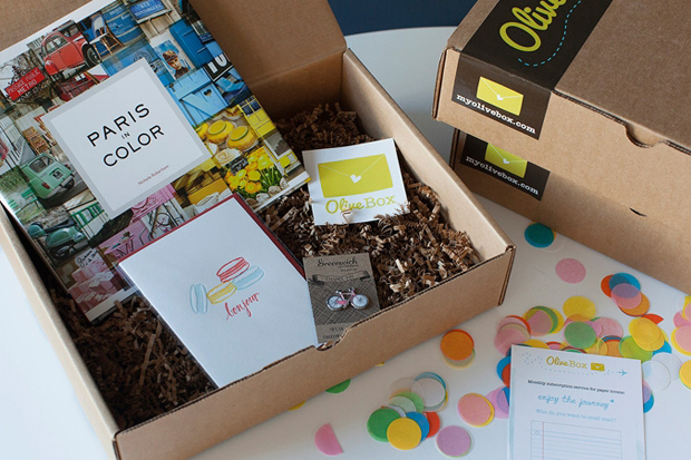 Olive Box - Monthly Subscription Service for Paper Lovers