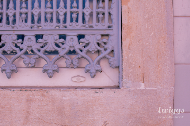 Detail of a window in Lisbon by Twiggs Photography