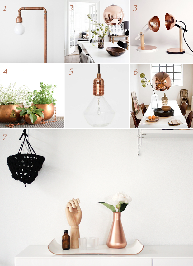 Interior Design Trend - Copper