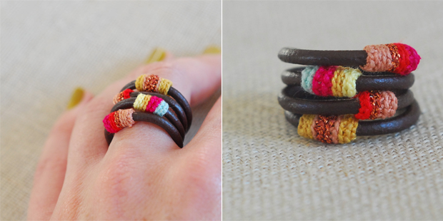 Handmade Crocheted Rings by Kjoo