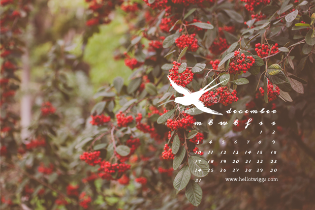 free downloads :: december 2012 desktop calendar