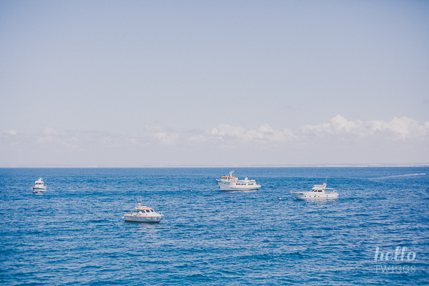 Boats on the sea