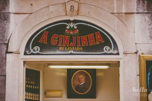 A Ginginha, Lisboa