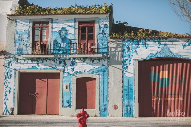 Passing through Setúbal
