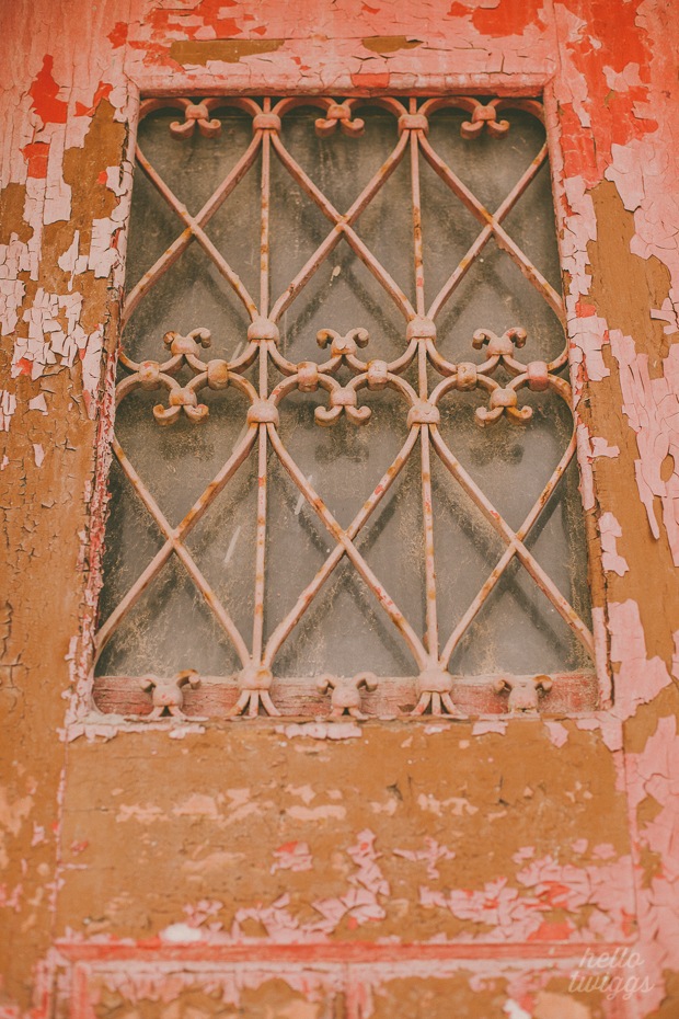 Weathered door in Santarém