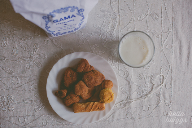 Biscoitos e Leite // Cookies and Milk