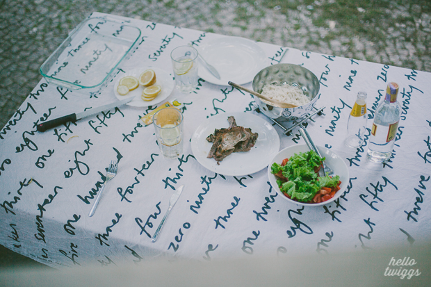 Backyard Dinner in Lisbon by Claudia Casal // Hello Twiggs