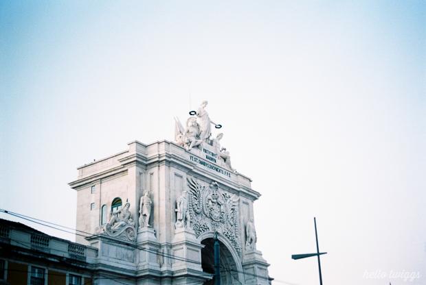 Sessão Fotográfica Lisboa Analógica