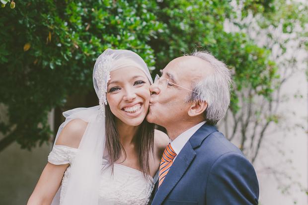 Fotografia de Casamento - Noiva com pai