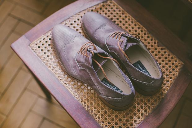 Fotografia de Casamento - Sapatos Noivo