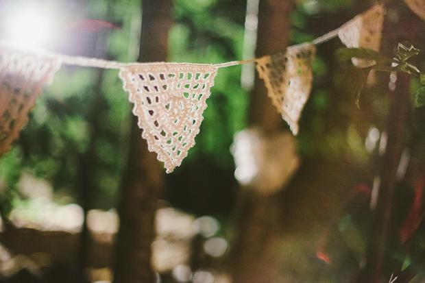 Fotografia de Casamento - Decoração Romântica Crochet em Casamento