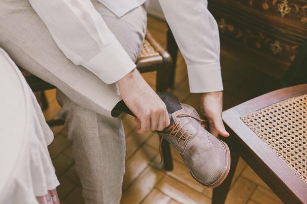 Fotografia de Casamento - Preparativos do Noivo