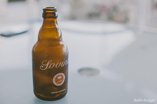 Cerveja Portugesa Artesanal Sovina no Restaurante Claro, Paço d'Arcos