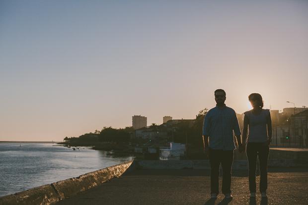 Sessão Fotográfica de Engagement - Porto