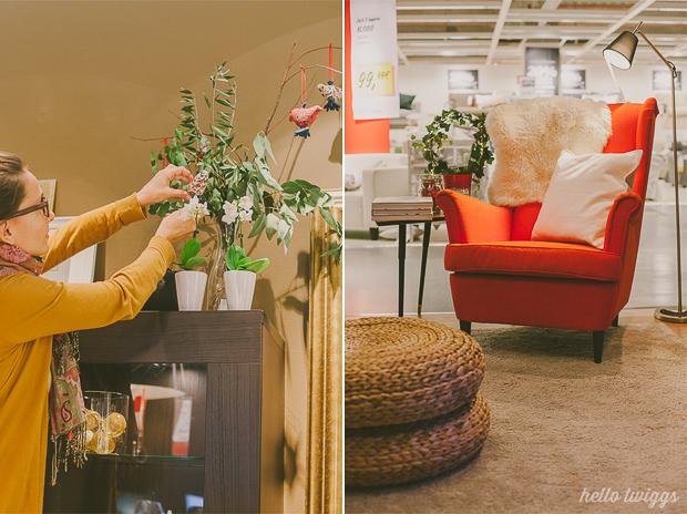 Decoração de Natal IKEA por Claudia Casal // Hello Twiggs na Loja de Loures
