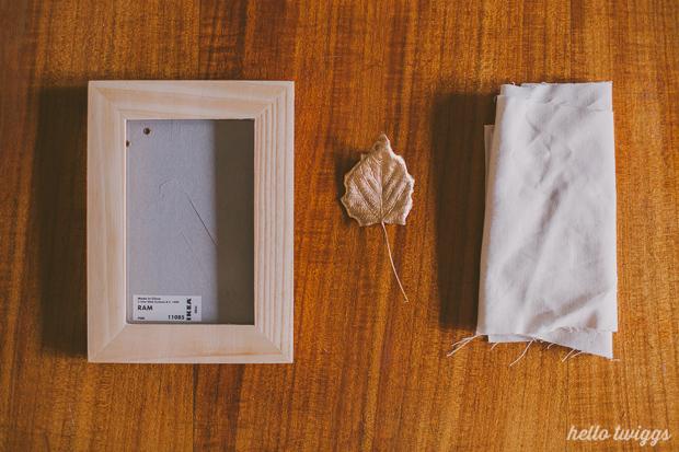 diy :: framing nature