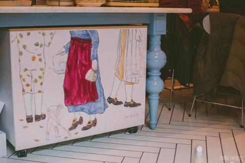 Travel to Copenhagen :: Royal Smushi Cafe