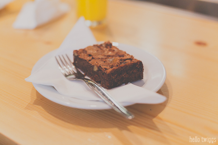 Best Brownie in Lisbon - Grémio do Carmo - Lisboa