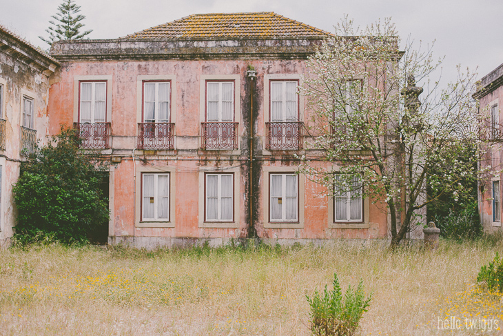Arquitectura das casas em Lisboa