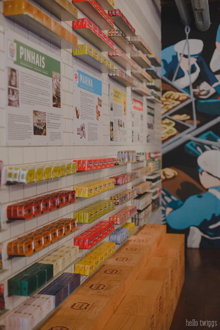 Loja das Conservas - Cool Shops in Lisbon by Claudia Casal * Hello Twiggs