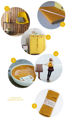 A crush for mustard yellow