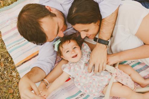 Família em Ponto Pequeno :: Raquel + Élio + Laura